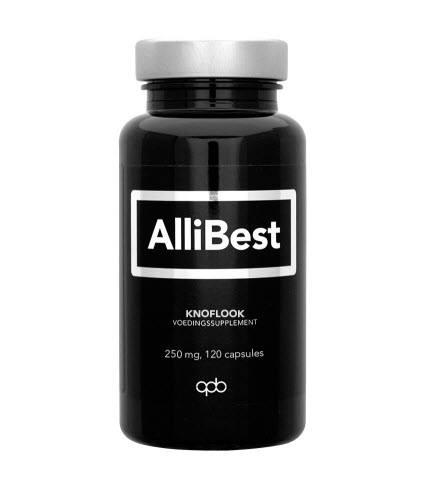 Afbeelding van Allibest 250mg 120 capsules