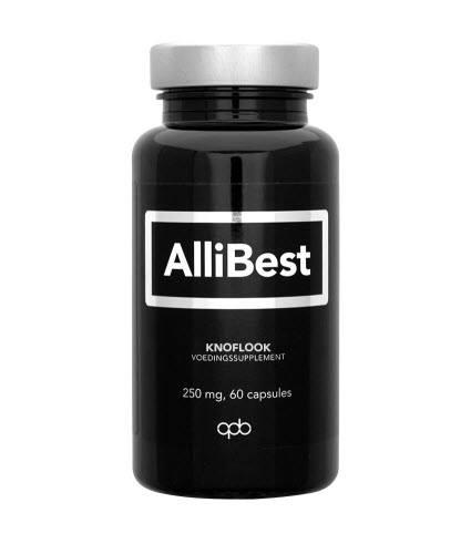 Afbeelding van Allibest 250mg 60 capsules